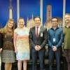 Prefeito recebe homenageadas da 34ª Feira do Livro de Caxias do Sul