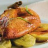 Na culinária, Frango ao molho de tangerina e banana grelhada