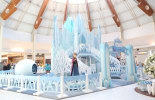Princesas de Frozen no Shopping Iguatemi Caxias