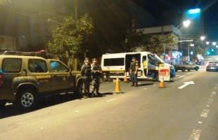 Força Tarefa/Balada Segura prende 5 pessoas por excesso de álcool