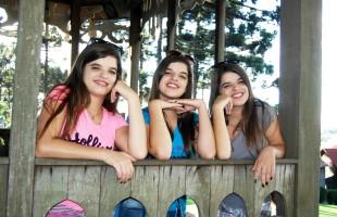 Três mil vezes belas: Ana Carolina, Izadora Luiza e Maria Eduarda