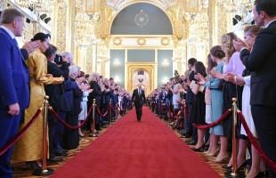 Vladimir Putin foi empossado como Presidente da Rússia