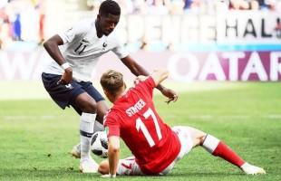 Medrosas, França e Dinamarca ficam no primeiro 0x0 da Copa da Rússia