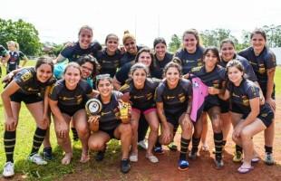 Charrua sai na frente no Circuito Gaúcho de Rugby 7's Feminino
