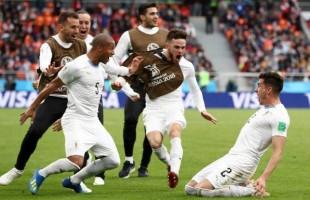 Uruguai vence na estréia depois de 50 anos