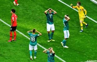 Alemanha, atual campeã mundial, perde e dá adeus à Copa da Rússia