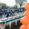 Centenas de pessoas comemoram os 128 anos de Caxias do Sul no Largo da prefeitura