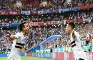 México vence a Coréia e empurra a pressão pra cima da Alemanha