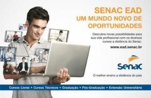 Ensino a distância: Senac Caxias do Sul oferece cursos Técnicos EAD