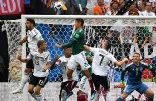 Em jogo de tirar o fôlego, México bate os atuais campeões mundiais