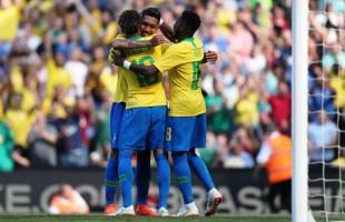 Brasil realiza penúltimo amistoso antes da Copa da Rússia