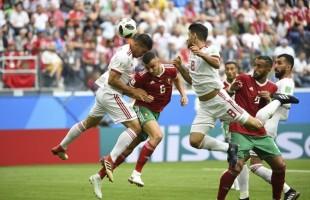 Foi sofrido, mas Irã vence no fim com gol contra