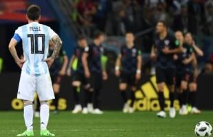 Croácia goleia Argentina e deixa os hermanos quase fora da Copa