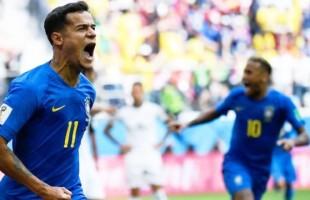 Brasil vence o seu freguês histórico. 2×0.