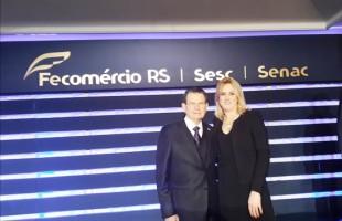 Diretora da Pole Modas assume vice-presidência da Fecomércio-RS