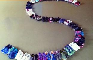 Desafio Social arrecada mais de 5 mil pares de calçados esportivos