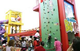 Brincadeiras radicais incrementam a programação de férias do Iguatemi Caxias