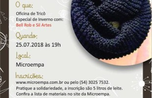 Microempa promove oficina especial de inverno