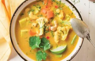 Na culinária, Curry de legumes