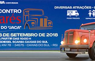 Brasdiesel e Scania promovem o 3º Encontro de Jacarés em Caxias do Sul