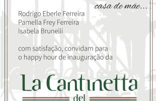 Restaurante La Cantinetta del Mulino é opção para os amantes da culinária italiana, em Caxias do Sul