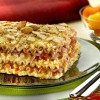 Na culinária: Lasanha ao molho de damasco com presunto e amêndoas