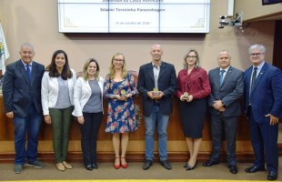 Solenidade emocionante marca entrega do Prêmio Servidor Público Cidadão 2018