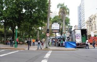Ponto de Safra completa um ano na Praça Dante Alighieri movimentando R$ 3,5 milhões