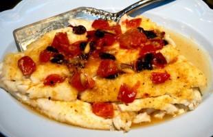Na culinária, Bacalhau assado com uva passa e nozes