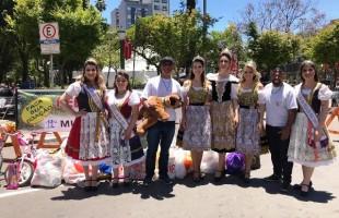 Rainha, Princesas e Embaixatrizes intensificam divulgação da Festa da Uva 2019