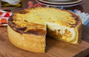 Na culinária, Quiche de queijo brie com damasco