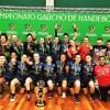 Campeonato Estadual de handebol apresenta os campeões