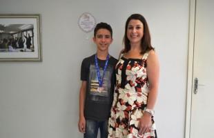 Estudante de Caxias do Sul se destaca na Olimpíada Brasileira de Matemática