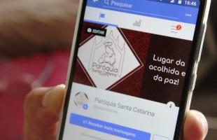 Redes sociais da Paróquia Santa Catarina alcançam mais de 350.000 pessoas, em 2018