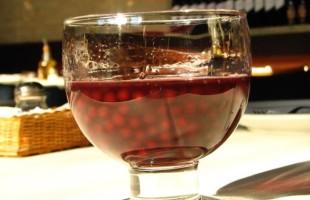 Na culinária, Sagu de vinho