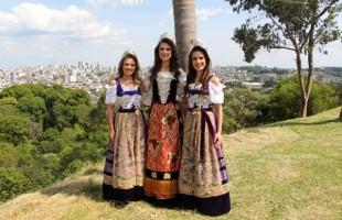 Rainha e Princesas da Festa da Uva 2019 convidam cidades da região para participar do evento