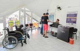 Pessoas com deficiência têm acesso gratuito à Festa da Uva 2019