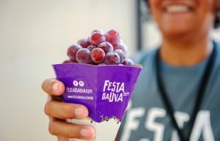 Mais de 13 toneladas de uva são distribuídas no primeiro final de semana da Festa da Uva 2019