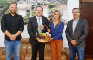 Smapa convida Secretaria Estadual da Agricultura para Festa da Uva 2019