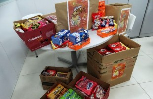 Campanha Páscoa Solidária arrecada doces para crianças em vulnerabilidade social