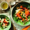 Na culinária, Salada de tomate