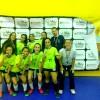 Cristóvão de Mendoza vence categoria Juvenil Feminino dos Jogos Escolares de Futsal