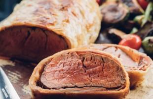 Na culinária, Beef Wellington