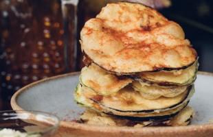 Na culinária, Chips de berinjela e abobrinha com sour cream