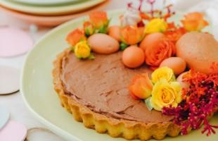 Na culinária, Tarte de chocolate
