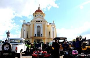Caravanas e Pré-Romarias: como está o mês de maio no Santuário de Caravaggio, em Farroupilha