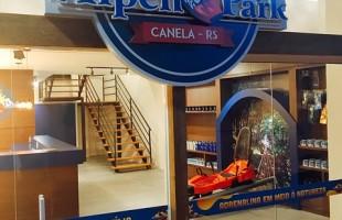 Alpen Park inaugura loja junto à Estação Campos de Canella