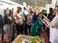 Oficinas culinárias na Expocooperlate despertaram o interesse do público