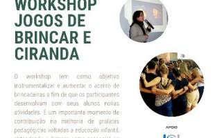 Atriz, diretora e produtora do Grupo Quiquiprocó Teatro de Bonecos, Andréa Peres, ministra Workshop na UniCesumar Caxias do Sul