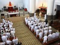 Novo bispo da Diocese de Caxias se encontra com padres e celebra missa em Caravaggio